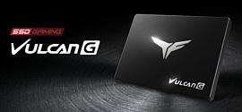 Team Group выпустила новые геймерские SSD T-Force Vulcan G