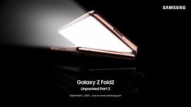 Samsung назначила презентацию Galaxy Z Fold2 Unpacked на 1 сентября