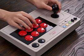 8BitDo выпустит аркадный стик в стиле NES для ПК и Switch