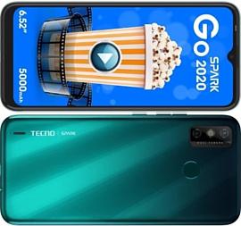 Spark Go 2020 — новый смартфон Tecno за $90