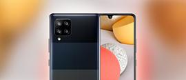Samsung представила недорогой 5G-смартфон Galaxy A42