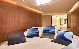 Asus показала несколько новых ноутбуков с процессорами Intel