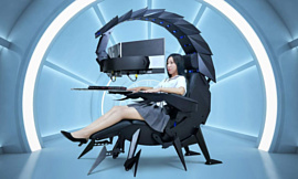 Cluvens выпустила геймерское «кресло-скорпион» за $3300