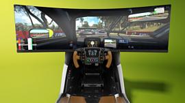 Aston Martin сконструировала гоночный симулятор за $74 тысячи
