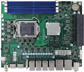Portwell выпустила материнскую плату для процессоров Comet Lake с 20 портами USB