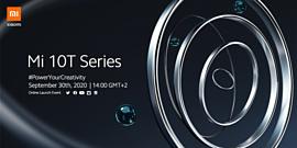 Xiaomi представит Mi 10T, Mi 10T Pro и Mi 10T Lite 30 сентября