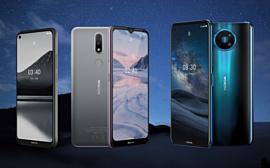 HMD Global выпустила смартфоны Nokia 8.3 5G, Nokia 2.4 и Nokia 3.4