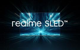 Realme анонсировала «первый в мире SLED-телевизор»