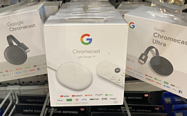 Неанонсированный Chromecast с Google TV уже начали продавать