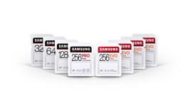 Samsung представила новые скоростные SD-карты PRO Plus, EVO Plus