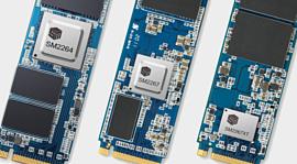 Новые контроллеры Silicon Motion могут сделать PCIe 4.0 SSD дешевле