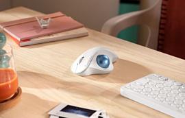 Logitech показала новую беспроводную мышь с трекболом — ERGO M575