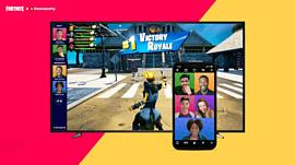 В Fortnite на ПК и PlayStation появились групповые видеоконференции