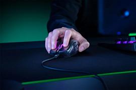 Razer представила новую геймерскую мышь Naga X с 12 кнопками на боку