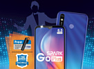 Tecno Spark Go Plus — смартфон с 6.52-дюймовым экраном за $88