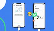 WhatsApp: перенос истории сообщений с iPhone на Android 12