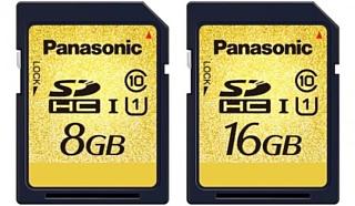 Panasonic анонсировала новые скоростные карты памяти UHS-I SDHC