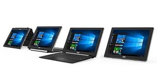 Acer показала несколько новых ноутбуков с Windows 10