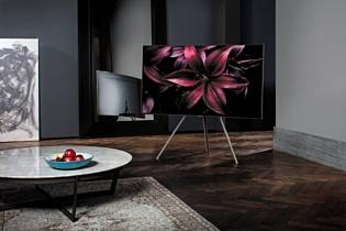 Samsung продемонстрировала новые QLED-телевизоры
