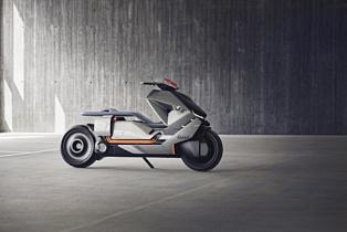 BMW создала концепт мотоцикла с нулевым уровнем выбросов