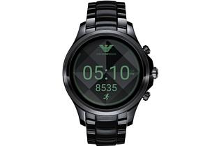 Armani представила новые умные часы на базе Android Wear