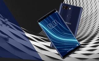 Archos представила «безрамочный» смартфон Diamond Omega