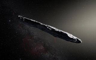 В Солнечной системе заметили первый межзвездный объект — астероид Оумуамуа