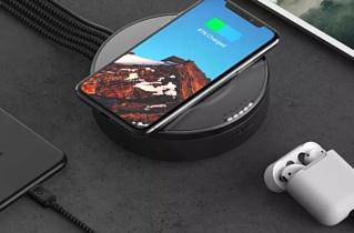 Nomad представила бесрповодную зарядную станцию с USB-хабом