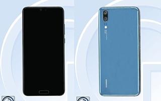 Huawei P20 появился в базе данных TENAA
