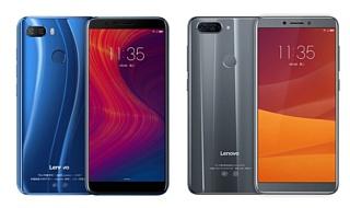 Lenovo анонсировала дешевые смартфоны K5 и K5 Play