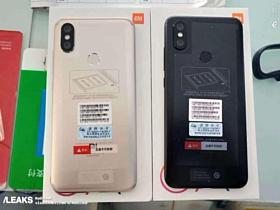 Опубликованы фото и видео Xiaomi Mi 6X