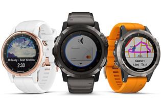 Garmin представила умные часы Fenix 5 Plus