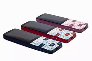 В Японии представили необычный мобильник Infobar XV
