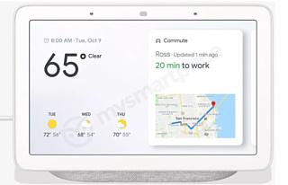 Утечка: изображения и характеристики Google Home Hub