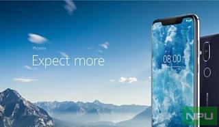 Утечка: промо-материалы и характеристики Nokia 8.1