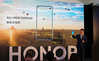 Huawei показала Honor View 20 с камерой внутри экрана