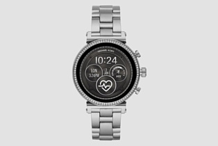 Access Sofie 2.0 — новые стильные умные часы Michael Kors