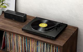 Sony анонсировала новый проигрыватель виниловых дисков LX310BT