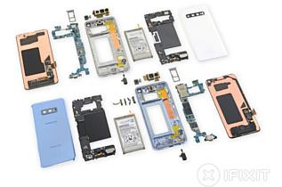 Samsung Galaxy S10 получил «тройку» за ремонтопригодность