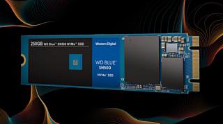 Western Digital начала продажи NVMe WD Blue SSD-накопителей