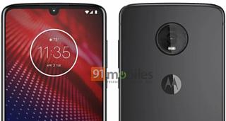 В сеть попало изображение Motorola Moto Z4