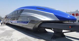 Новый китайский маглев-поезд может развивать скорость до 600 км/ч