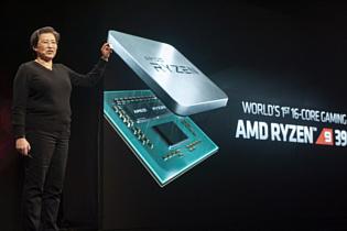 AMD представила мощный 16-ядерный процессор Ryzen 9 3950X для игровых ПК