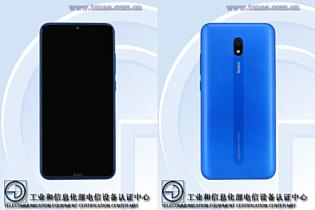 В базе данных TENAA заметили фотографии Xiaomi Redmi 8A