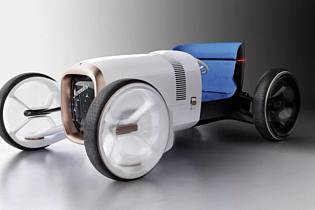 Mercedes-Benz привезла на Франкфуртский автосалон ретро-концепт с электрическим мотором