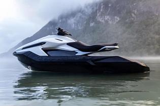 Taiga Motors Orca — электрический гидроцикл за $24 тысячи с батареей на два часа работы
