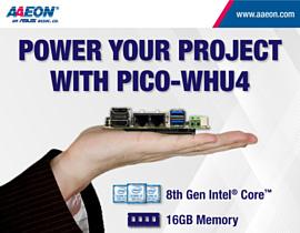 Aaeon Pico-WHU4 — альтернатива RaspBerry Pi с процессором Intel Core 8 поколения
