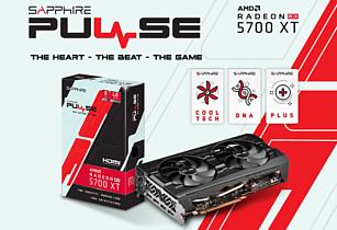 Sapphire представила новую видеокарту Pulse RX 5700 XT BE 8G