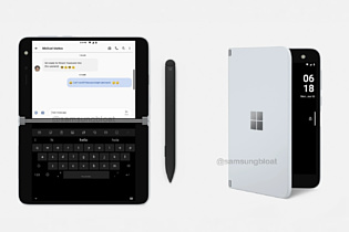 В сеть попали новые рендеры Microsoft Surface Duo