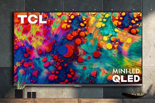 TCL представила новые телевизоры со 120-герцовыми QLED-панелями